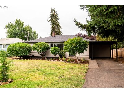 Springfield Single Family Home For Sale: 3170 Pheasant Blvd