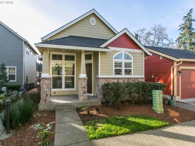 Tigard Condo/Townhouse For Sale: 9328 SW Coral St