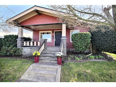 Portland Single Family Home For Sale: 5552 NE Hoyt St