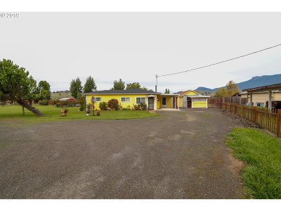 Glide Single Family Home For Sale: 19396 North Umpqua Hwy