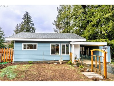 Coquille Single Family Home For Sale: 1601 N Irving