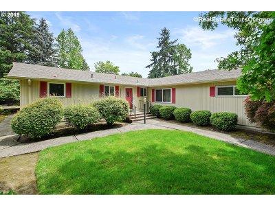 Aloha Single Family Home For Sale: 5150 SW 192nd Ave