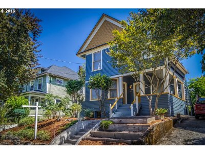 Portland Single Family Home For Sale: 2140 NE 13th Ave