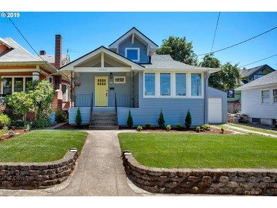 Portland Single Family Home For Sale: 1422 SE 51st Ave