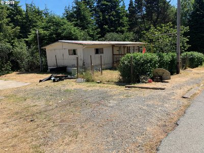 Coos Bay Single Family Home For Sale: 63411 Mobilane Rd