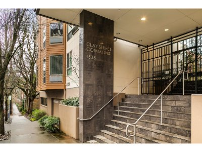 Condo/Townhouse For Sale: 1535 SW Clay St #233
