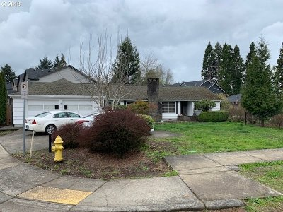 Beaverton Single Family Home For Auction: 19200 SW Kinnaman Rd