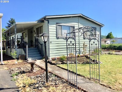 Sutherlin Single Family Home For Sale: 1200 E Central Ave #86