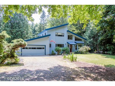 Aurora Single Family Home Pending: 15790 NE Becke Rd