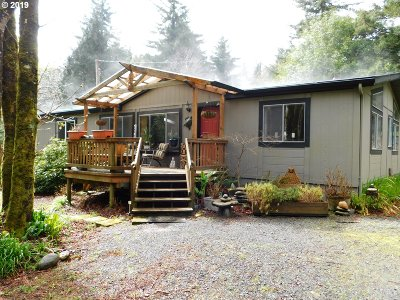 Port Orford Single Family Home For Sale: 42646 Port Orford Lp Rd