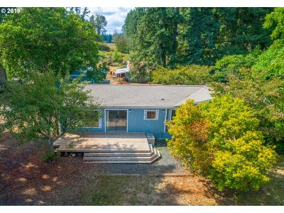 Oregon City, Beavercreek, Molalla, Mulino Single Family Home For Sale: 17881 S Strowbridge Rd