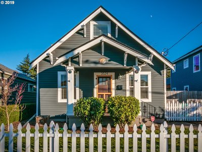 Portland Single Family Home For Sale: 3524 SE 62nd Ave