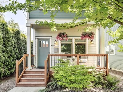 Clackamas County, Multnomah County, Washington County Single Family Home For Sale: 4724 N Commercial Ave