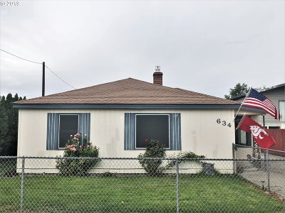 Hermiston Single Family Home For Sale: 634 W Park Ave