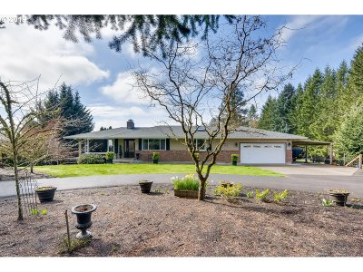 Single Family Home For Sale: 15455 SW Hillsboro Hwy
