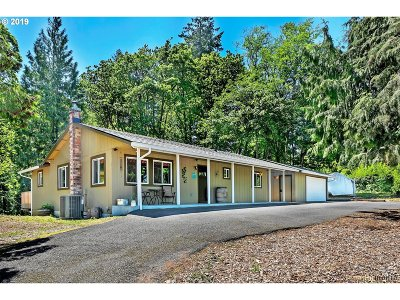 Portland Single Family Home For Sale: 19100 NW Logie Trail Rd