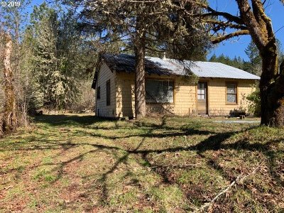 Glide Single Family Home For Sale: 9342 Little River Rd