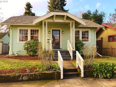 Portland Single Family Home For Sale: 7031 N Pierce Ave