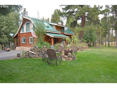 Bend Single Family Home For Sale: 55555 Sun St
