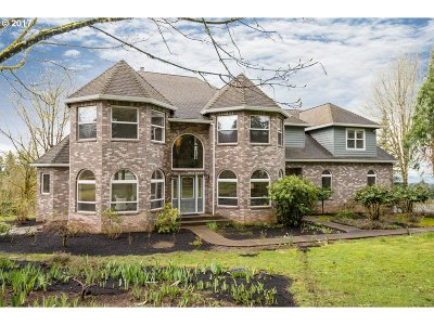 Washington County Single Family Home For Sale: 24880 NW Pederson Rd