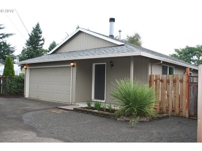 Portland OR Single Family Home For Sale: $315,000