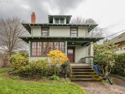 Single Family Home For Sale: 1836 SE 51st Ave