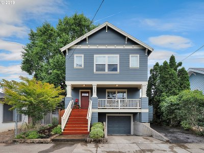 Portland Single Family Home For Sale: 2642 SE 62nd Ave