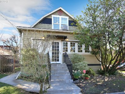 Portland Single Family Home For Sale: 1536 SE 43rd Ave