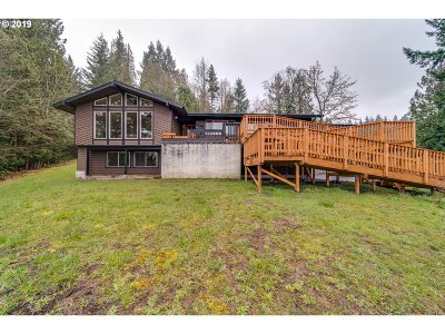 Cowlitz County Single Family Home For Sale: 4394 Sunset Way