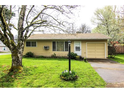 Portland Single Family Home For Sale: 9535 SW 91st Ave