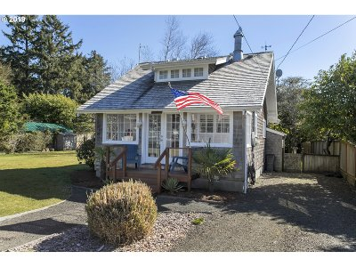 Gearhart Single Family Home For Sale: 627 B St