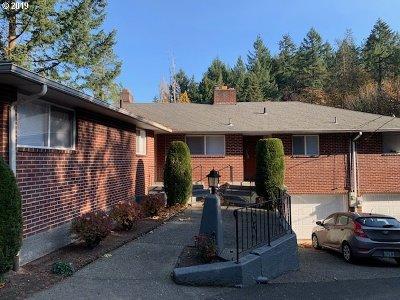 Portland Multi Family Home For Sale: 5381 SW Humphrey Blvd
