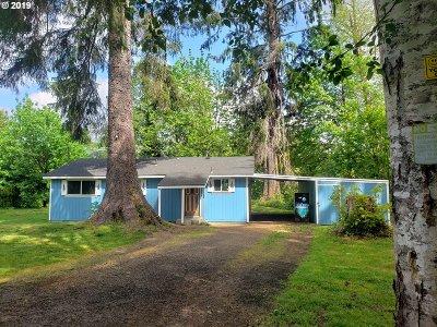 Seaside Single Family Home For Sale: 82611 Maple Rd