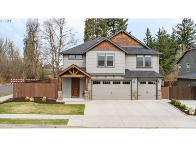 Ridgefield Single Family Home For Sale: 4840 N 8th St