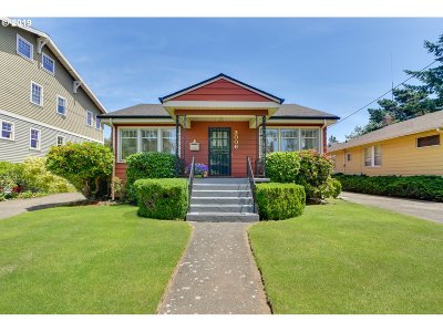 Single Family Home For Sale: 3006 NE 46th Ave