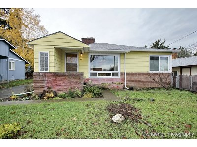 Single Family Home For Sale: 6611 SE 78th Ave