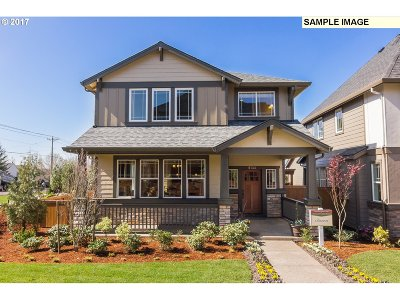 Portland Single Family Home For Sale: 14908 NW Olive St #L8