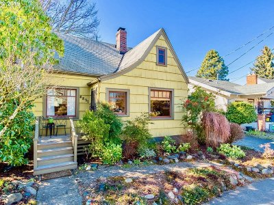 Portland Single Family Home For Sale: 4821 NE 14th Ave