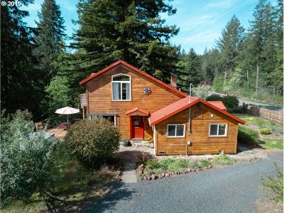 Lyons Single Family Home Pending: 40290 S McCully Mountain Rd
