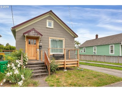 Portland Single Family Home For Sale: 3421 N Lombard St