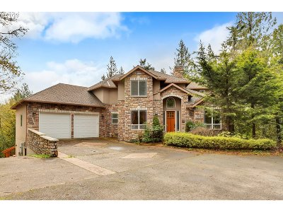 Multnomah County Single Family Home For Sale: 11016 NW Skyline Blvd