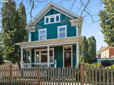 Portland Single Family Home For Sale: 23 NE 17th Ave