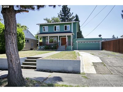 Multnomah County Single Family Home For Sale: 1010 N Baldwin St