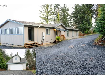 North Bend Single Family Home For Sale: 885 Lombard St