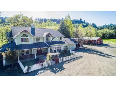 Cowlitz County Single Family Home For Sale: 1555 Germany Creek Rd