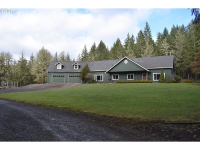 Single Family Home For Sale: 39285 Upper Camp Creek Rd