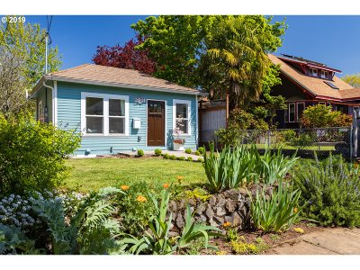 Portland Single Family Home For Sale: 2901 N Farragut St