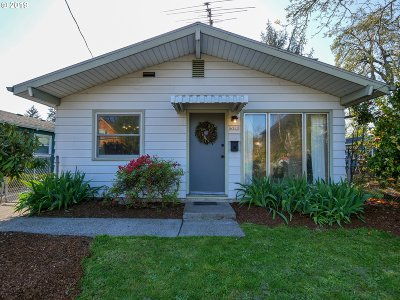 Single Family Home For Sale: 4909 SE 62nd Ave