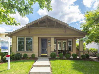 Hillsboro Single Family Home For Sale: 1656 NE Orenco Station Pkwy