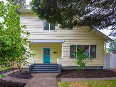 Portland Single Family Home For Sale: 4507 SE 70th Ave